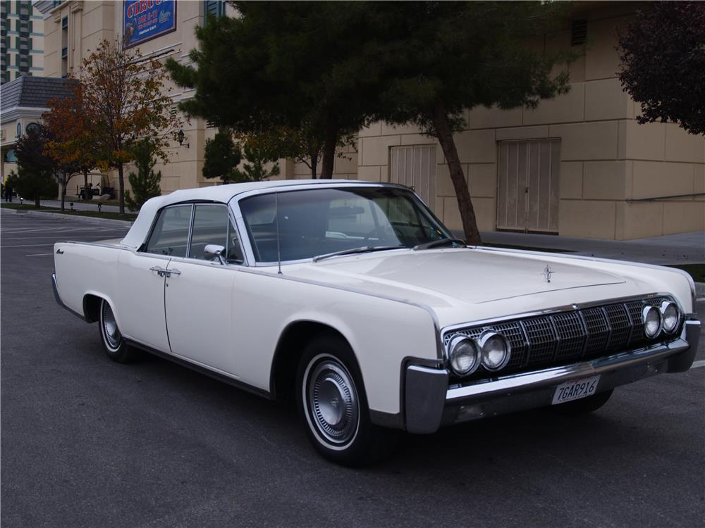 1964 lincoln continental convertible 181724. Black Bedroom Furniture Sets. Home Design Ideas