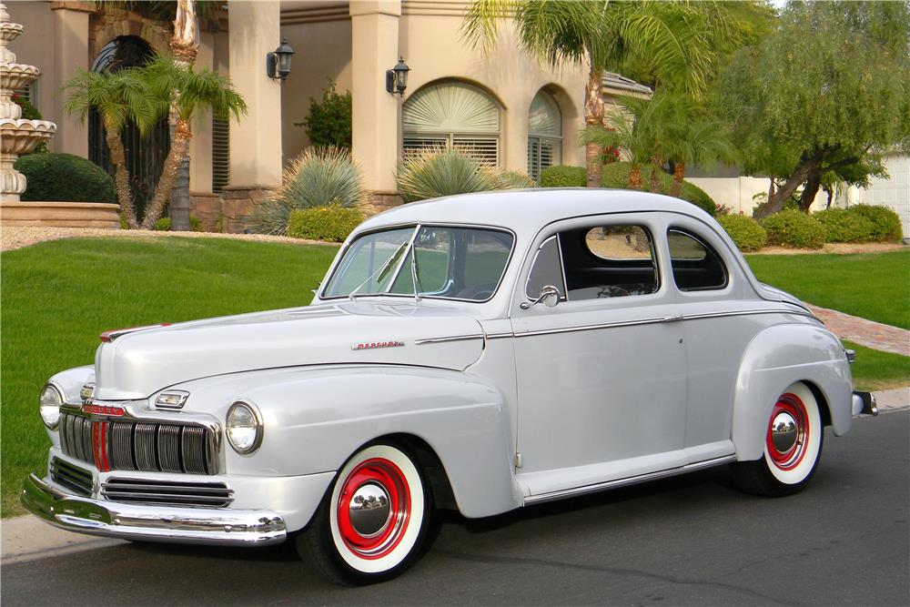 1947 MERCURY CUSTOM - Front 3/4 - 181729