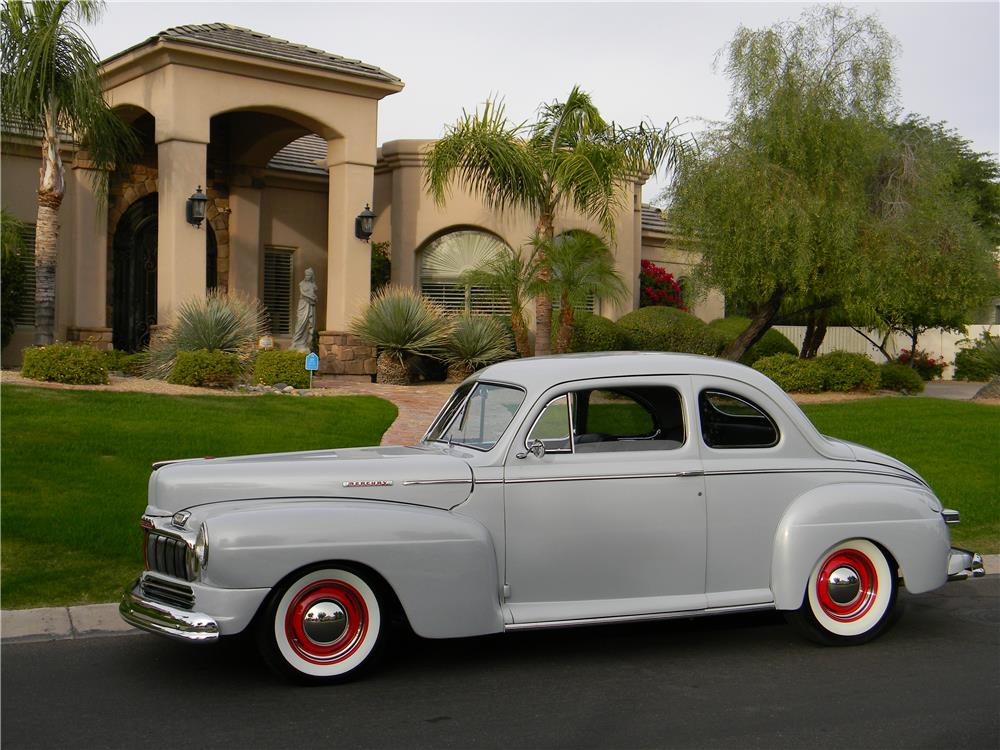 1947 MERCURY CUSTOM - Side Profile - 181729