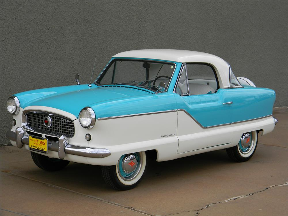 1959 NASH METROPOLITAN 2 DOOR COUPE - Front 3/4 - 181734