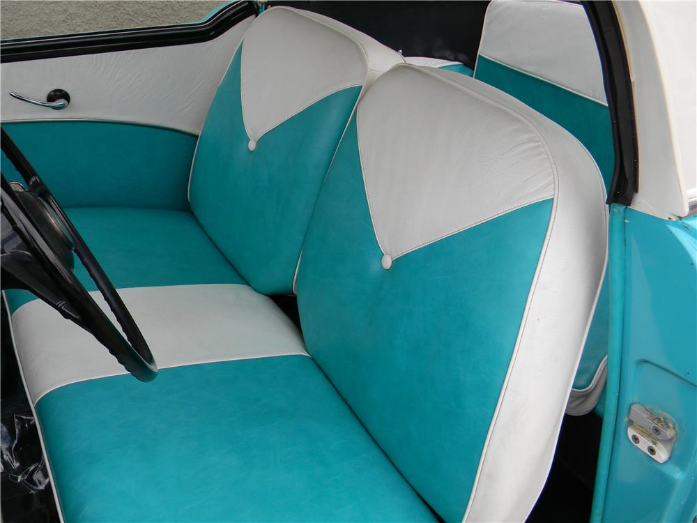 1959 NASH METROPOLITAN 2 DOOR COUPE - Interior - 181734