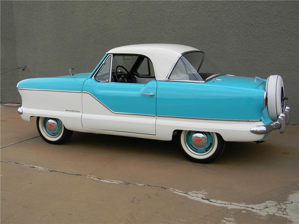 1959 NASH METROPOLITAN 2 DOOR COUPE - Rear 3/4 - 181734