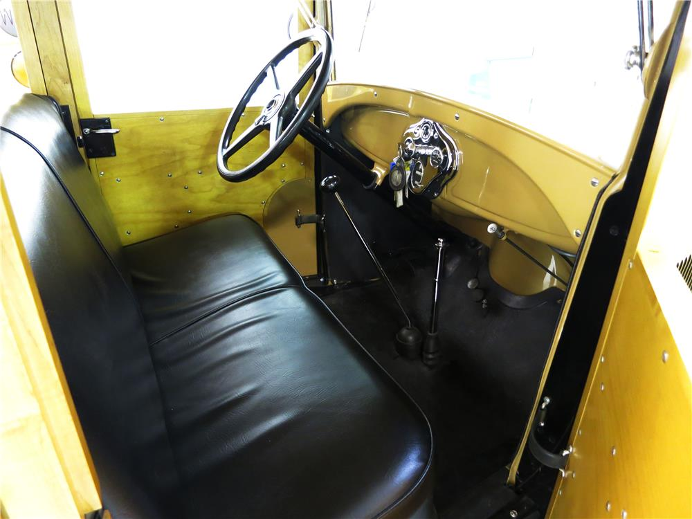 1930 FORD MODEL A WOODIE STATION WAGON - Interior - 181736