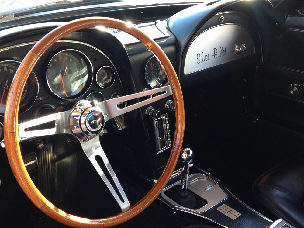 1966 CHEVROLET CORVETTE CUSTOM - Interior - 181738