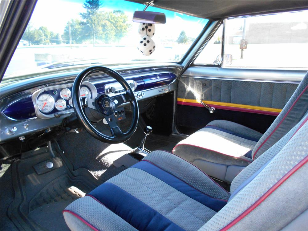 1964 CHEVROLET NOVA CUSTOM - Interior - 181741