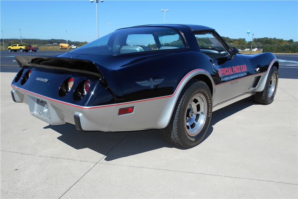 1978 CHEVROLET CORVETTE - Rear 3/4 - 181743