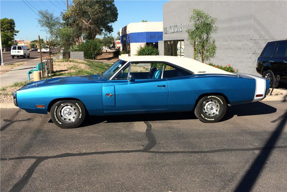 1970 DODGE CHARGER R/T - Side Profile - 181747