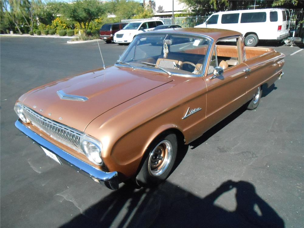 1963 FORD RANCHERO CUSTOM PICKUP - Front 3/4 - 181750