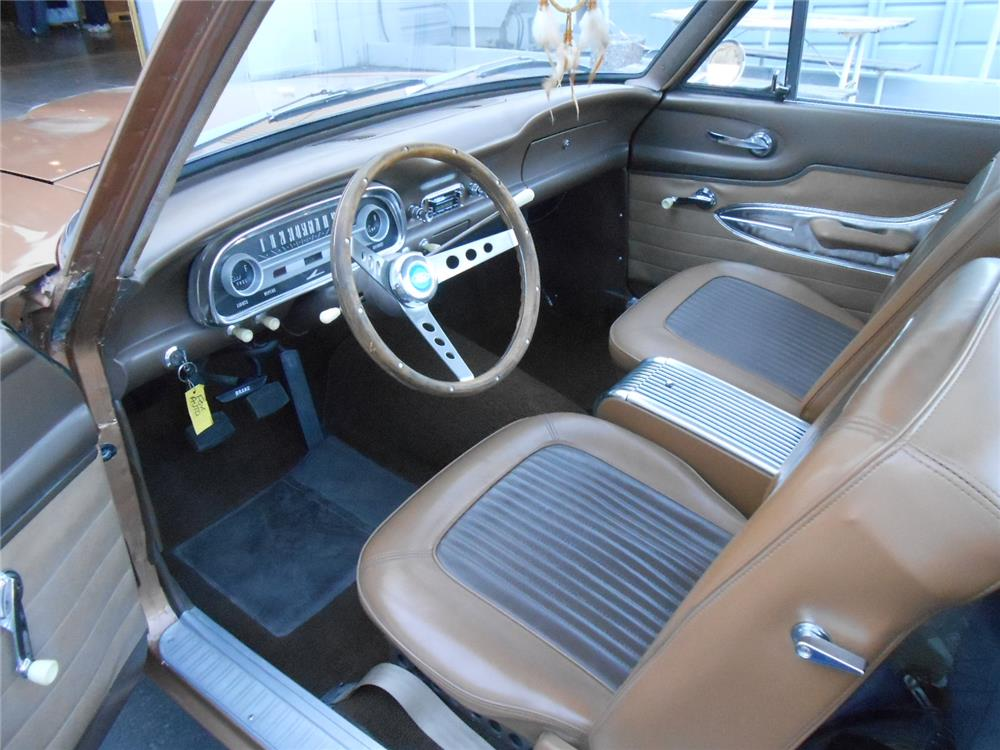 1963 FORD RANCHERO CUSTOM PICKUP - Interior - 181750