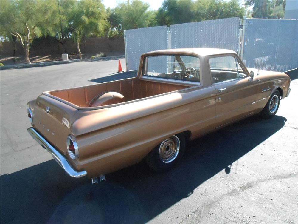 1963 FORD RANCHERO CUSTOM PICKUP - Rear 3/4 - 181750
