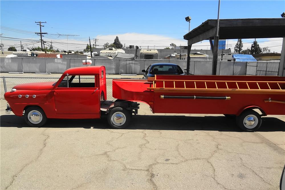 1951 CROSLEY FIRETRUCK - Side Profile - 181761