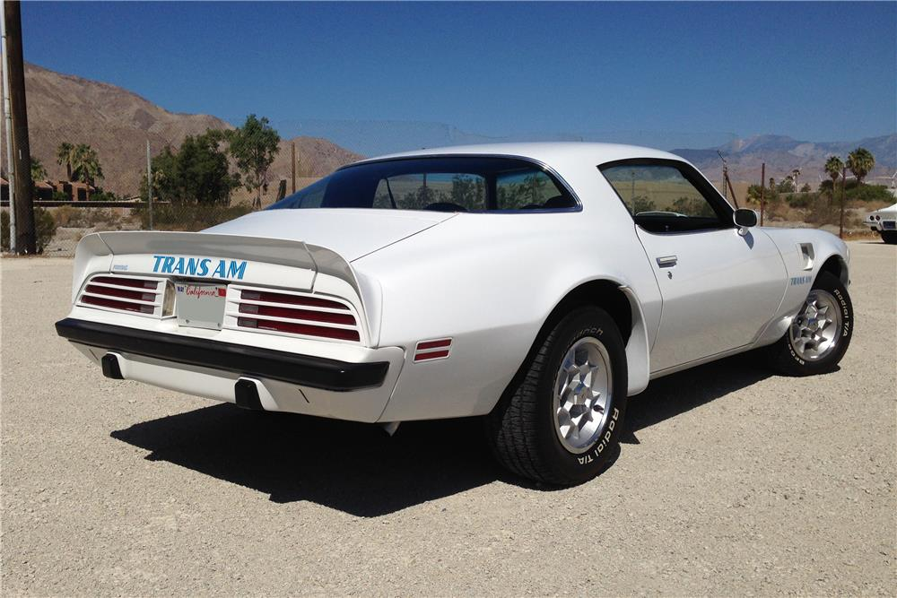 1975 PONTIAC FIREBIRD TRANS AM - Rear 3/4 - 181765