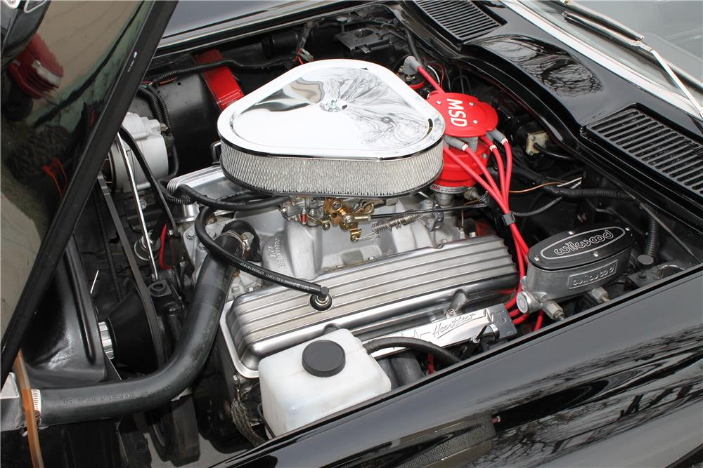 1964 CHEVROLET CORVETTE CUSTOM CONVERTIBLE - Engine - 181769