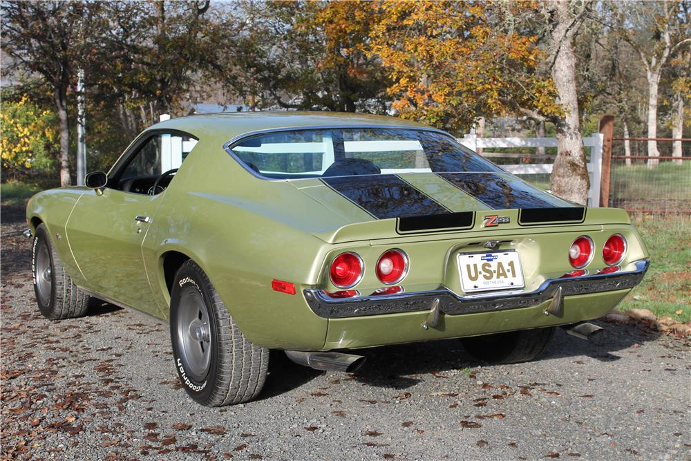 1971 CHEVROLET CAMARO Z/28 - Rear 3/4 - 181780