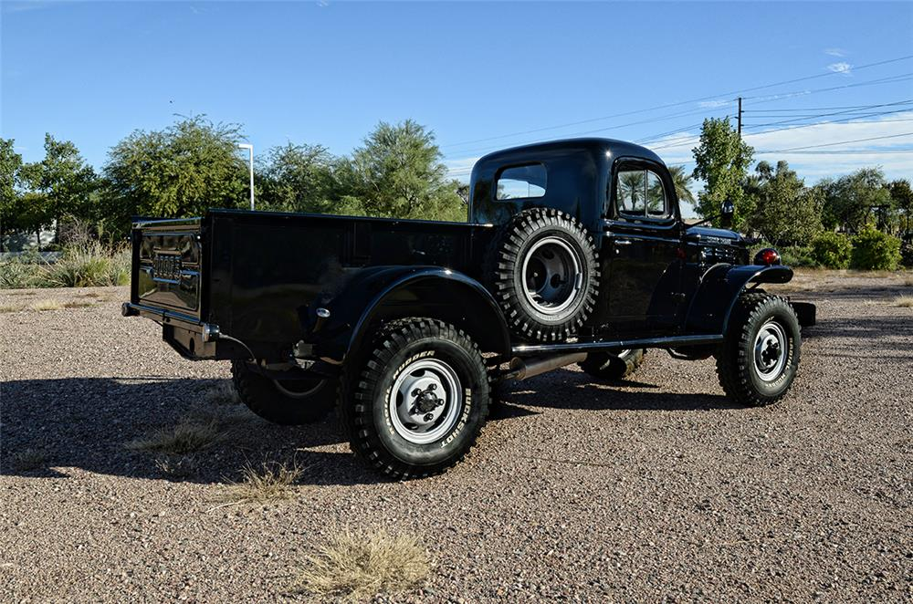 1949 DODGE POWER WAGON PICKUP - Rear 3/4 - 181782