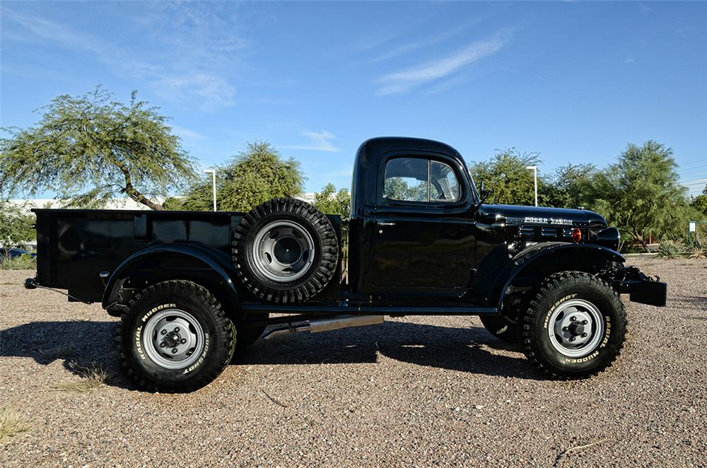1949 DODGE POWER WAGON PICKUP - Side Profile - 181782