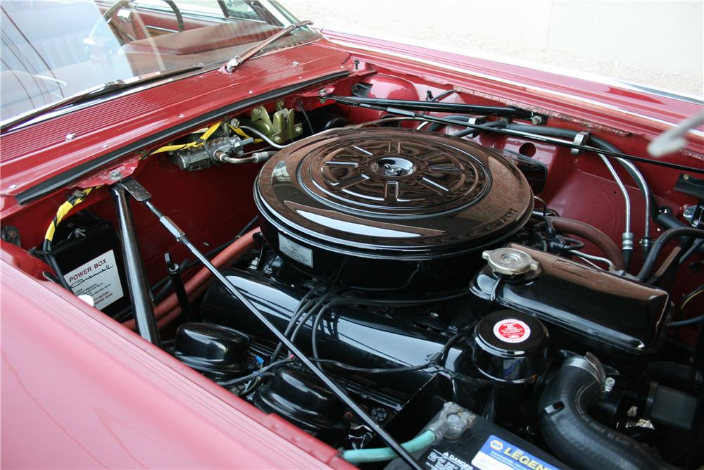 1962 LINCOLN CONTINENTAL 4 DOOR CONVERTIBLE - Engine - 181785