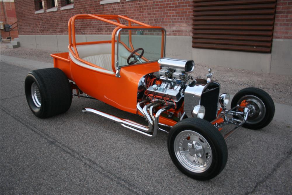1923 FORD CUSTOM ROADSTER - Front 3/4 - 181786