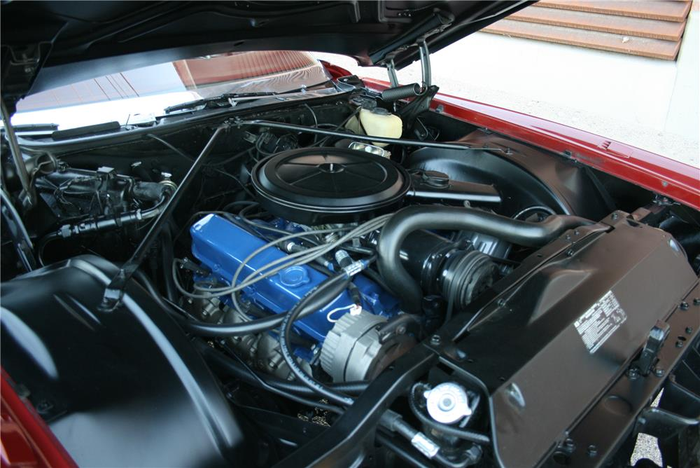 1971 CADILLAC ELDORADO CONVERTIBLE - Engine - 181788