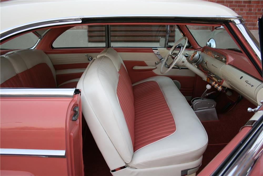 1955 LINCOLN CAPRI CUSTOM - Interior - 181790