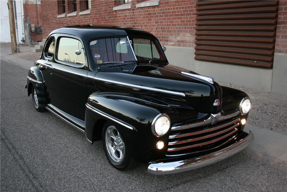 1948 FORD CUSTOM 2 DOOR COUPE - Front 3/4 - 181792