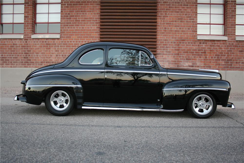 1948 FORD CUSTOM 2 DOOR COUPE - 181792