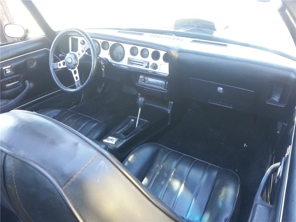 1979 PONTIAC FIREBIRD TRANS AM - Interior - 181809
