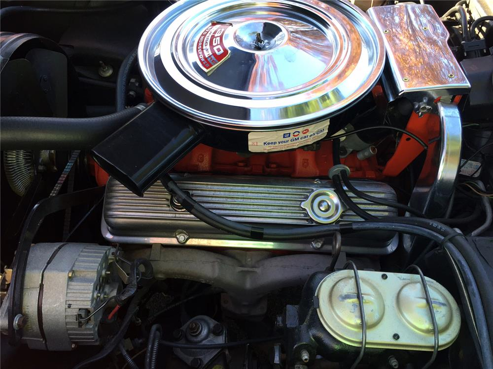 1971 CHEVROLET CORVETTE - Engine - 181811
