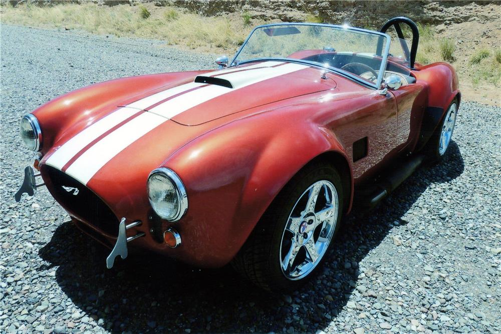 1965 SHELBY COBRA RE-CREATION ROADSTER - Front 3/4 - 181812