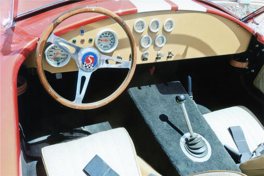 1965 SHELBY COBRA RE-CREATION ROADSTER - Interior - 181812