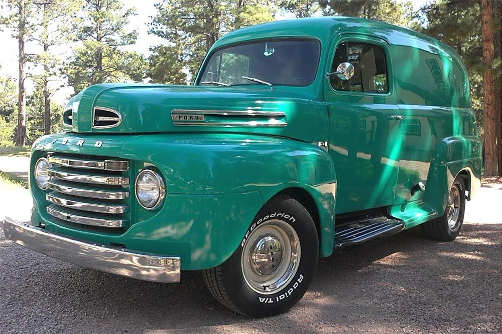 1948 FORD F-1 CUSTOM SEDAN DELIVERY - Front 3/4 - 181814