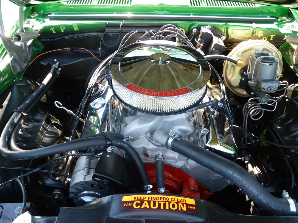 1969 CHEVROLET CAMARO - Engine - 181824