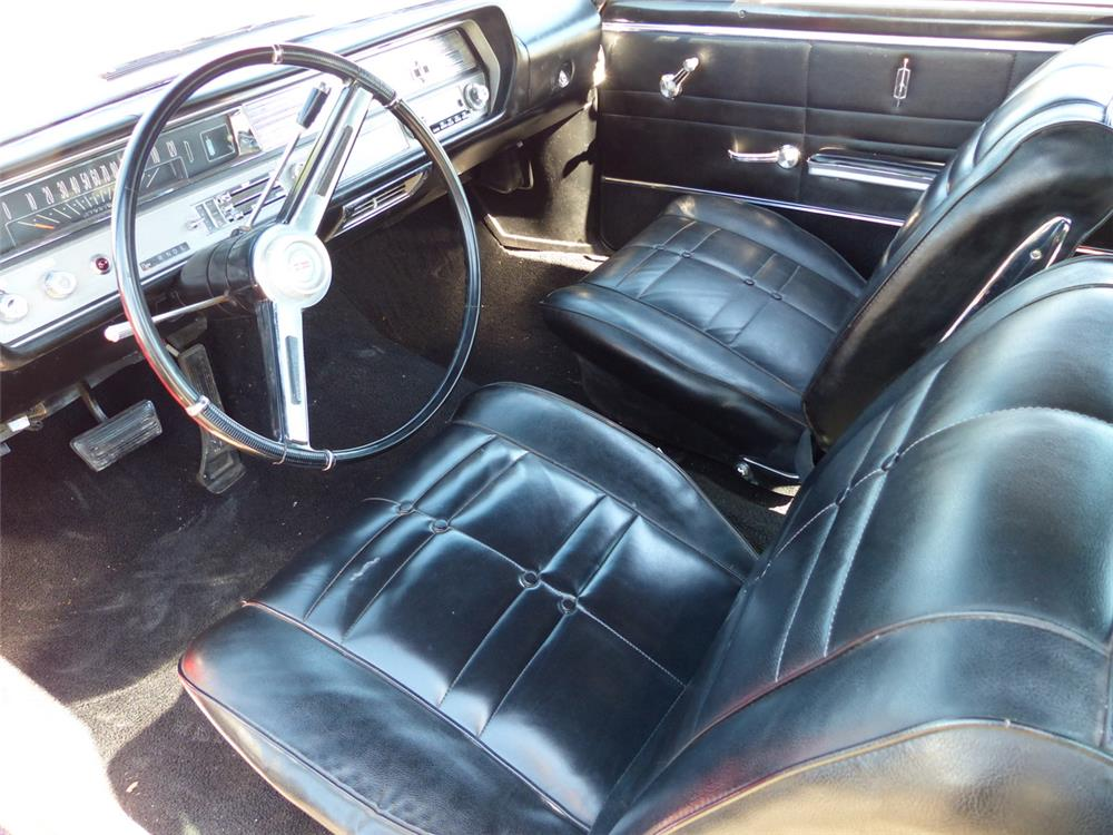 1965 OLDSMOBILE CUTLASS - Interior - 181832