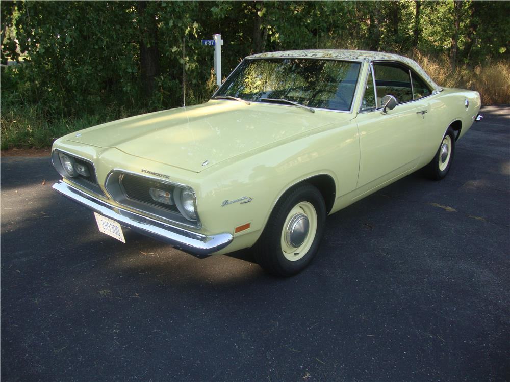 1969 PLYMOUTH BARRACUDA - Front 3/4 - 181865