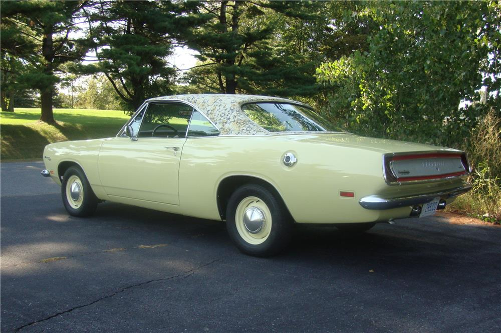1969 PLYMOUTH BARRACUDA - Rear 3/4 - 181865