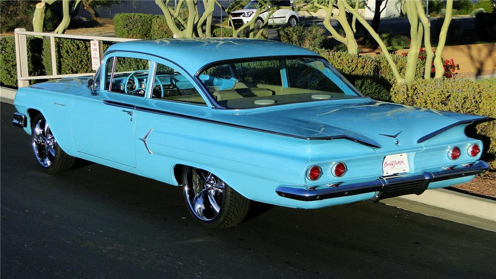 1960 CHEVROLET BISCAYNE CUSTOM COUPE - 181870