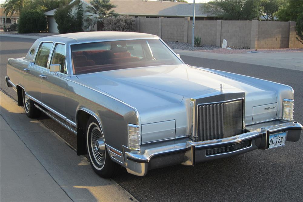 1979 Lincoln Towncar 4 Door Sedan 181873