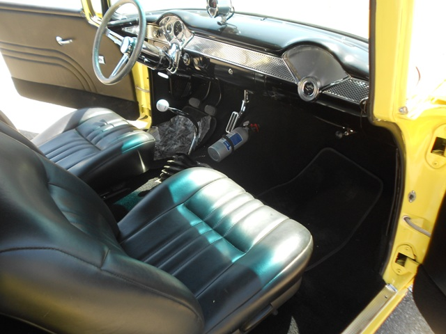 1955 CHEVROLET 210 CUSTOM PRO-STREET - Interior - 181874