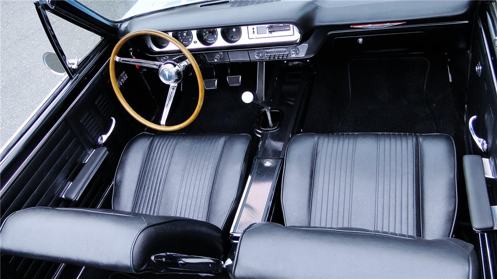 1964 PONTIAC LEMANS CUSTOM CONVERTIBLE - Interior - 181876