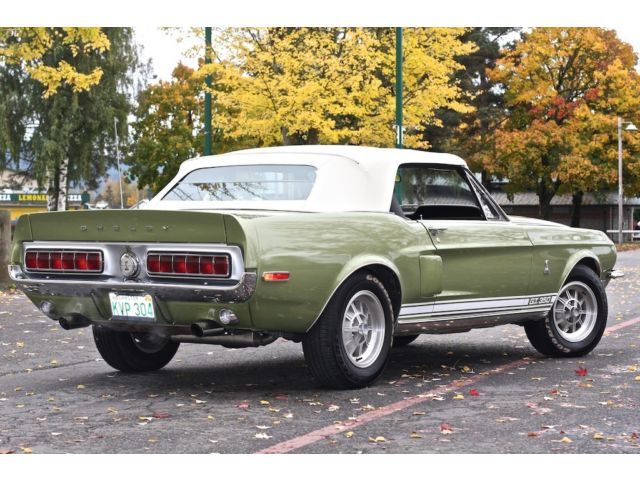 1968 FORD MUSTANG CONVERTIBLE - Rear 3/4 - 182059