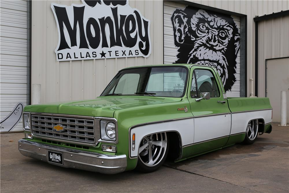 Auto Body Shop Near Me >> 1976 CHEVROLET C-10 CUSTOM PICKUP