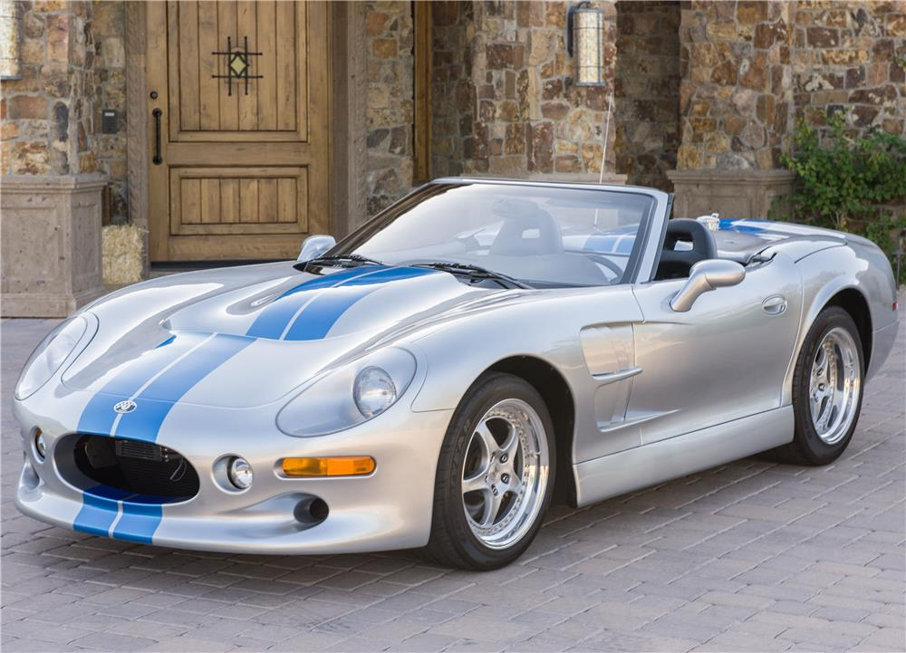 1999 SHELBY SERIES 1 CONVERTIBLE - Front 3/4 - 182080