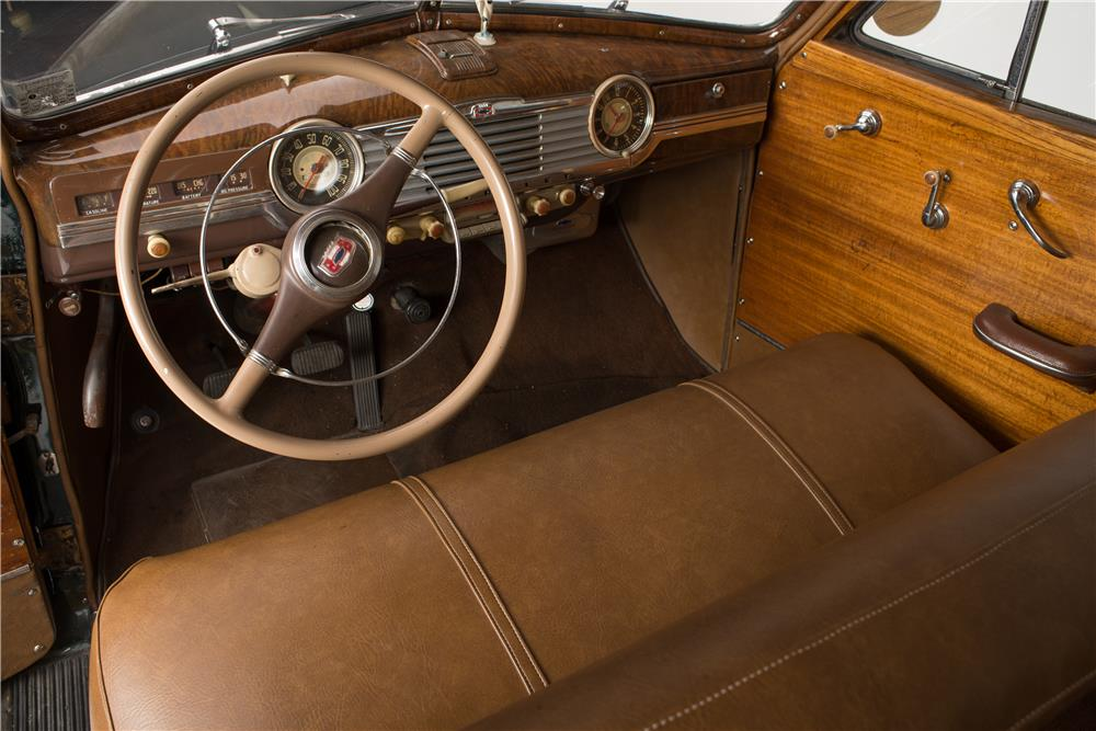 1948 CHEVROLET FLEETMASTER WOODIE WAGON - Interior - 182093