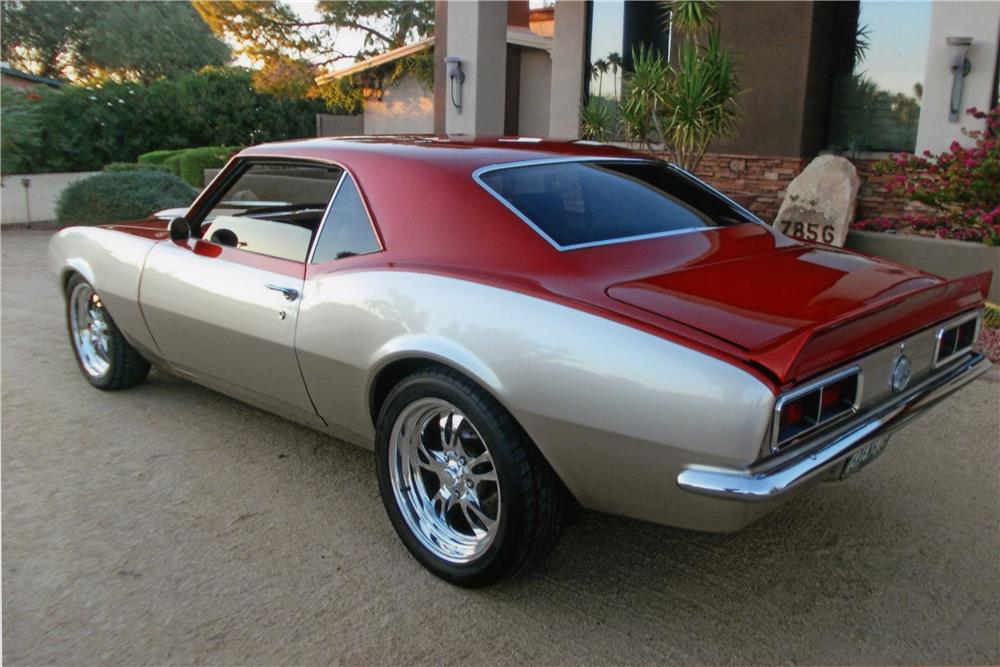1968 CHEVROLET CAMARO SS CUSTOM 2 DOOR COUPE - Rear 3/4 - 182097