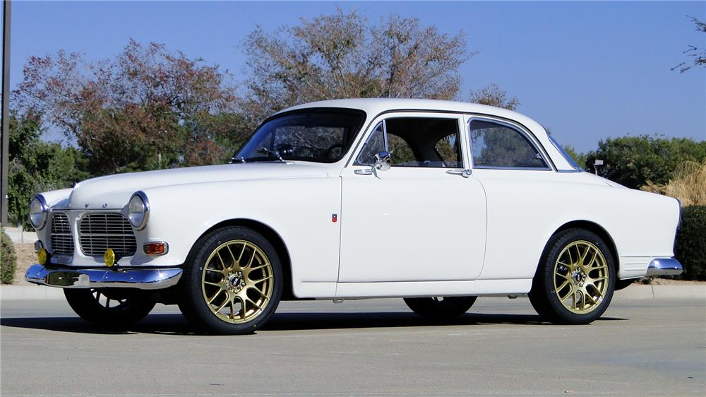 1966 VOLVO 122 COUPE - Front 3/4 - 182113