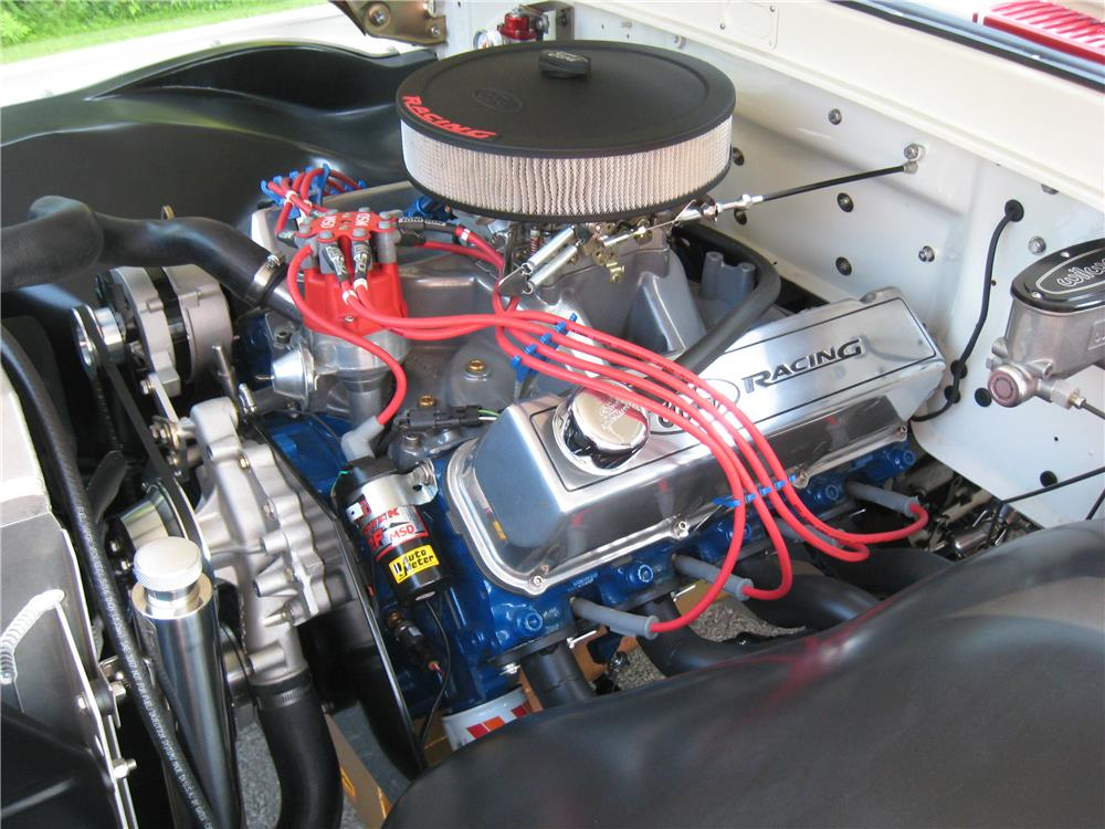 1963 FORD F-100 CUSTOM PICKUP - Engine - 182122