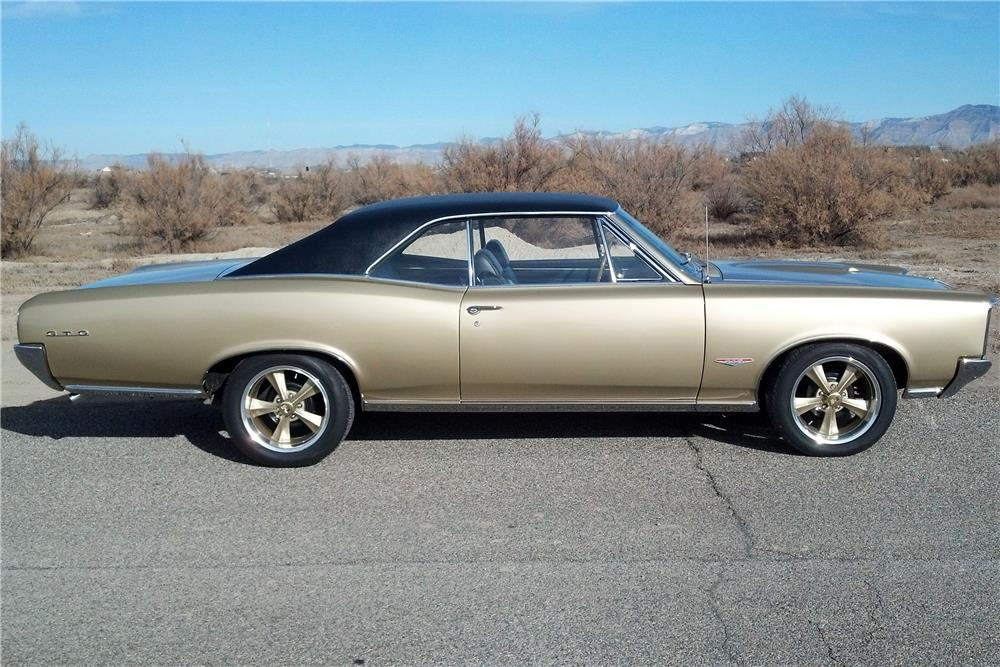 1966 PONTIAC GTO - Side Profile - 182129