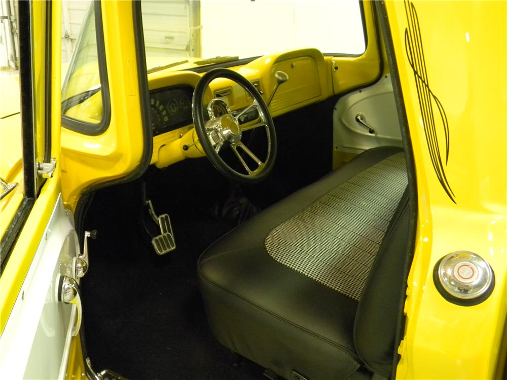 1961 CHEVROLET CUSTOM PICKUP - Interior - 182139