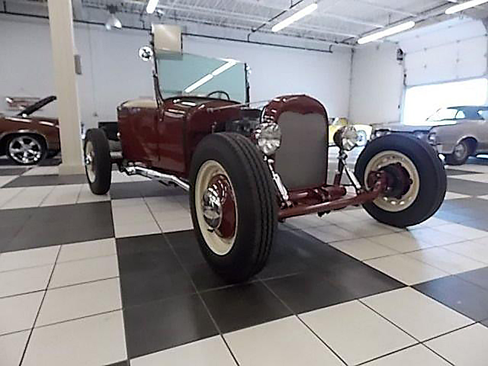 1924 FORD ROADSTER - Side Profile - 182140