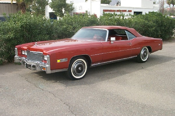 1976 CADILLAC ELDORADO UNKNOWN - Front 3/4 - 18218